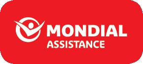 Mondial White Logo