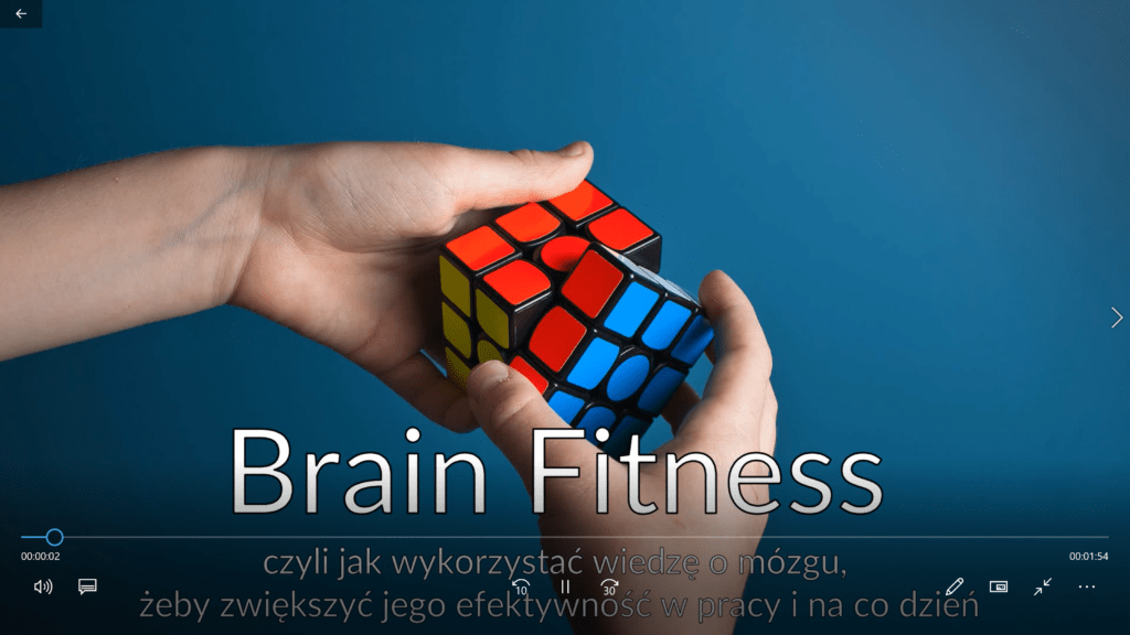 Brain fitness webinar
